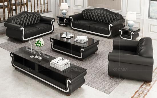 China New Color Italian Sofa Modern Furniture Leather 1+2+3 Luxury .