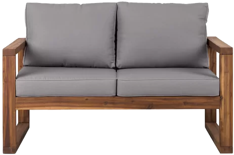 Lyall Loveseat with Cushion | Decori