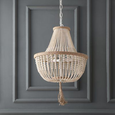 Mistana Lyon 3-Light Unique / Statement Empire Chandelier | Empire .