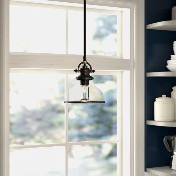 Three Posts Macon 1 - Light Single Dome Pendant & Reviews | Wayfa