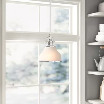 Macon 1 - Light Single Dome Pendant | Light, Grey kitchen designs .
