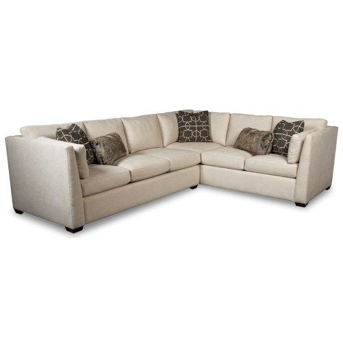 RR760100 Contemporary Two Piece Sectional Sofa with RAF Corner .