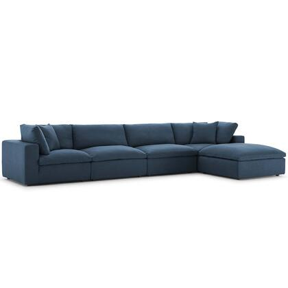 Modway Commix Fabric Sectional Sofa EEI3358AZU Azure | Appliances .