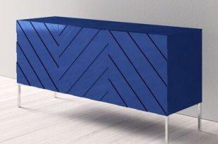 Mercury Row Malcom Buffet Table Color: Navy | Unique furniture .