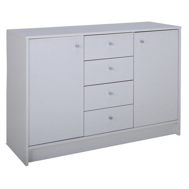 Buy Argos Home Malibu 2 Door 4 Drawer Sideboard - White .
