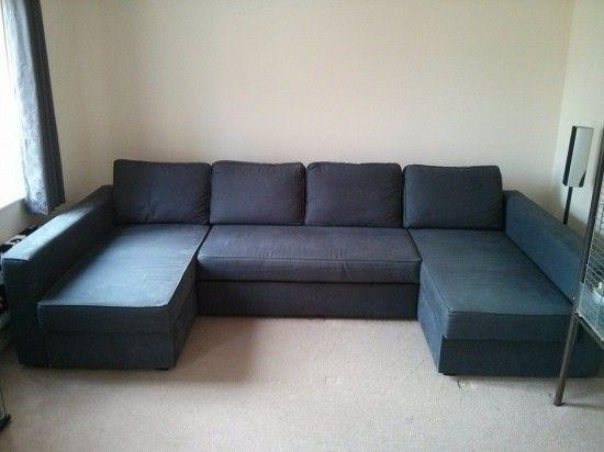 Manstad + Manstad = Massive U-Shaped Sofabed - IKEA Hackers | Ikea .