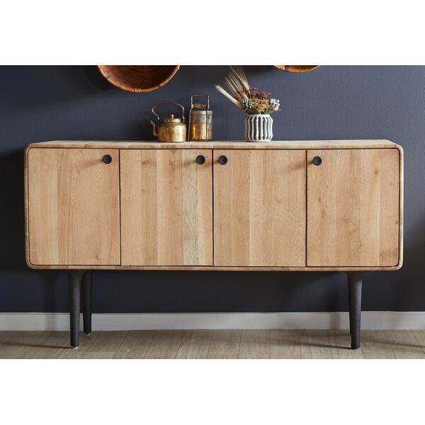 "Corrigan Studio® Massillon 66"" Wide Oak Wood Sideboard | Wayfa"