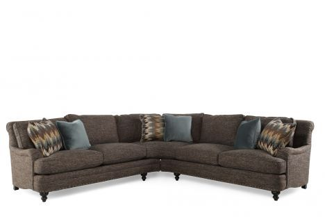 BHT-B5391A/B5392A - Bernhardt Aleah Sectional | Mathis Brothers .