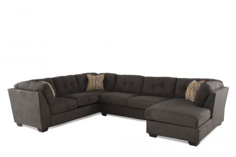 ASH-19700/SECT - Ashley Delta City Steel Three-Piece Sectional .