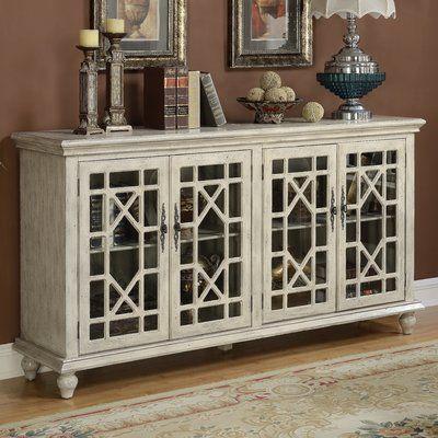 "Mistana Ira 72"" TV Stand Color: | Furniture, Media credenza, Door ."