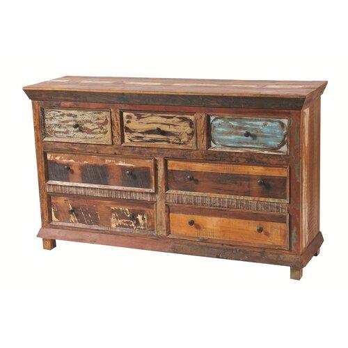 Bloomsbury Market Mcdonnell 7 Drawer Dresser & Reviews | Wayfa