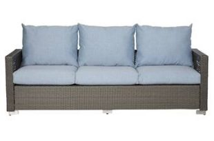 Ivy Bronx Mcmanis Patio Sofa with Cushions & Reviews | Wayfa
