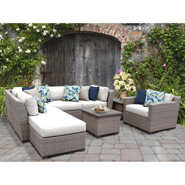 You'll love the Meeks 9 Piece Sectional Seating Group with .