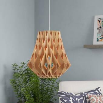 Mistana Mallory 1 - Light Single Geometric Pendant & Reviews | Wayfa