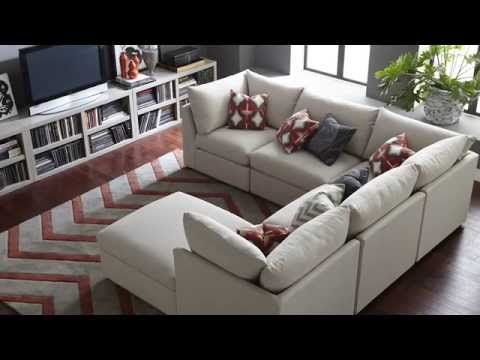 The Beckham Sectional Sofa by Bassett Furniture$5334 | Modular .