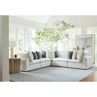 Modern Rustic Interiors Fisher Sectional | Universal furniture .