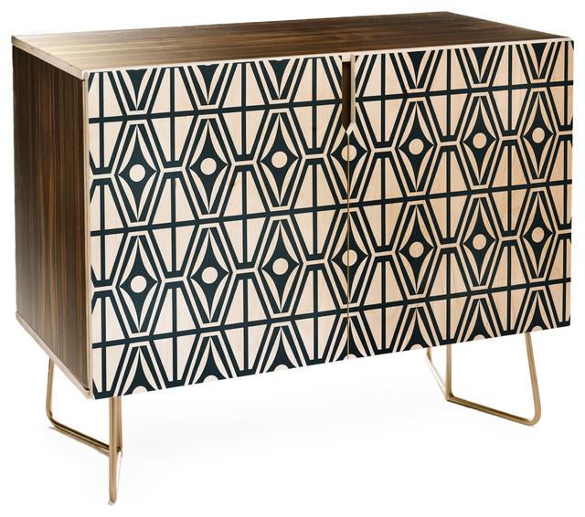 Deny Designs Heather Dutton Metro Steel Credenza - Contemporary .