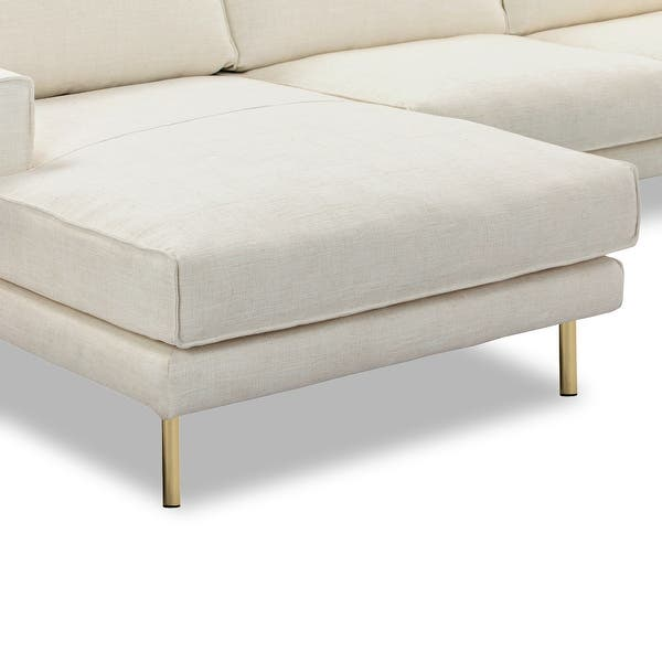 Shop Miami Left Sectional Sofa in Alabaster White - On Sale .