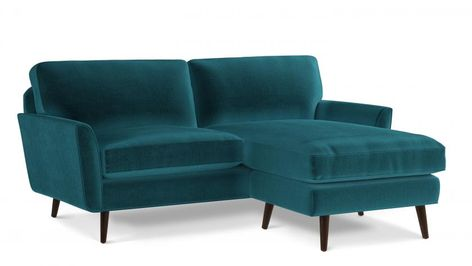 Discover Bardolph Sofa Chaise RHF, the mid century 2-seater sofa .