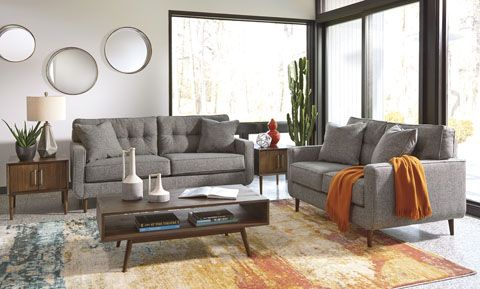 Mid-Century Modern nostalgia with a contemporary twist in the .