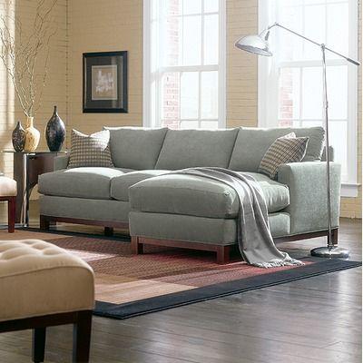 Rowe Furniture Sullivan Mini Mod Apartment Sectional Sofa - In .