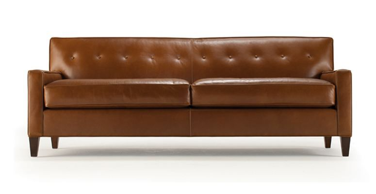 DEXTER LEATHER COLLECTION | Mitchell Gold + Bob Williams | Sofa .