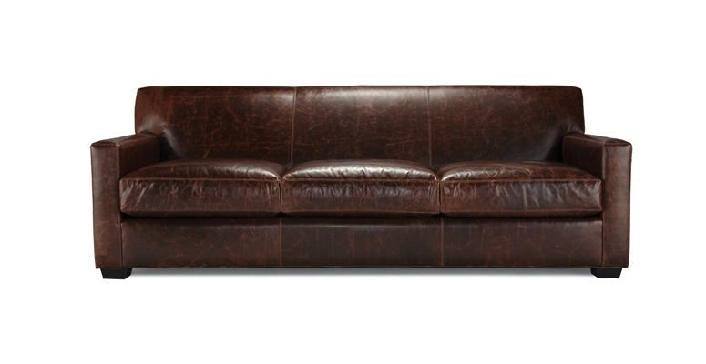 "ST. JEAN 90"" SOFA LEATHER 