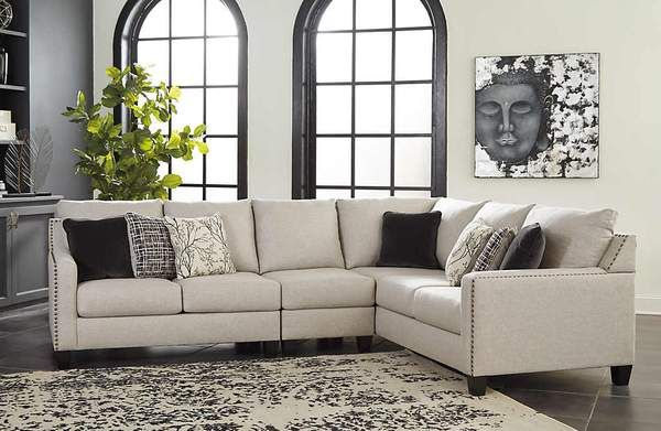 Hallenberg 3 Piece RAF Sectional   3 piece sectional, Sectional .