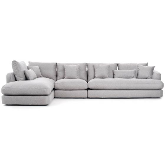 Elegant and modern fabric sectional sofa | Mobil