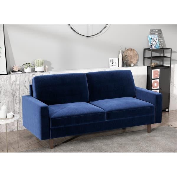 Shop Ross Modern Velvet 3 Seater Sofa - Overstock - 297173