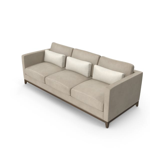 Contemporary 3 Seater Sofa by PixelSquid360 on Envato Elemen