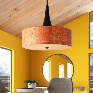 Modern & Contemporary Sasha 3 Light Drum Chandelier | AllMode