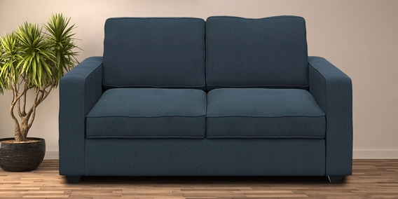 Buy Montreal 2 Seater Sectional Sofa in Blue colour by Forzza .
