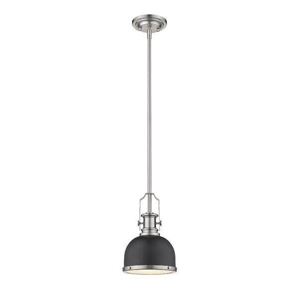 Breakwater Bay Langford 1-Light Single Dome Pendant & Reviews .