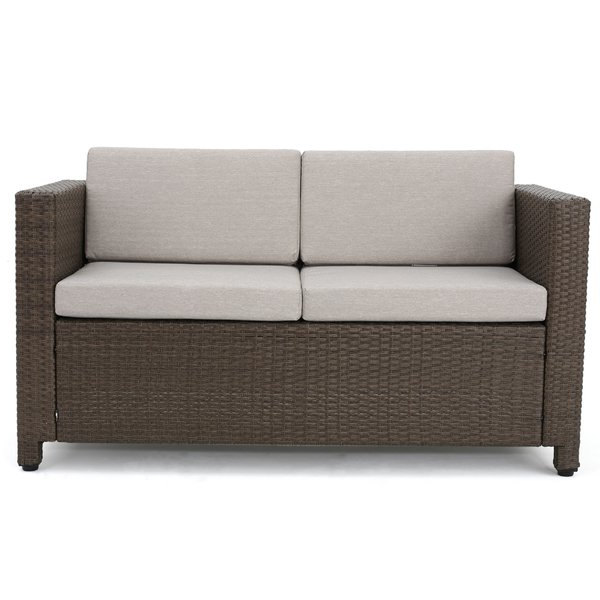Explore Gallery of Mullenax Outdoor Loveseats With Cushions .