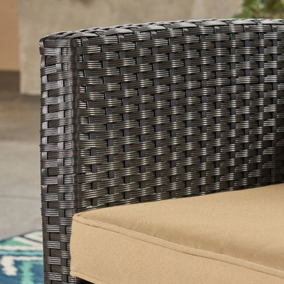 Photo Gallery of Mullenax Outdoor Loveseats With Cushions (Showing .