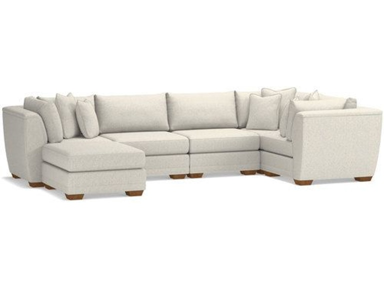 La-Z-Boy Living Room Ridgemont Sectional 683-Sectional - Quality .