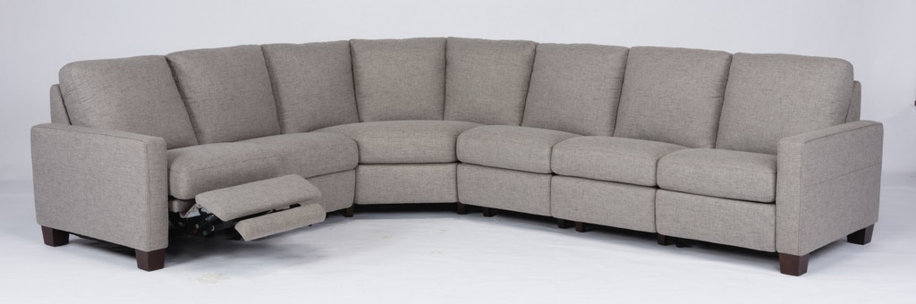 Flexsteel Living Room Power Reclining Sectional 1138-SECTP .