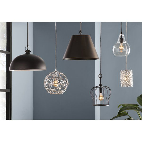 Nadeau 1-Light Single Cone Pendant in 2020 | Pendant lighting .