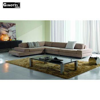 Latest design modern fabric corner sofa, View corner sofa, Ginotti .