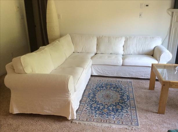 IKEA Ektorp sectional sofa Qualicum, Nanaimo - MOBI