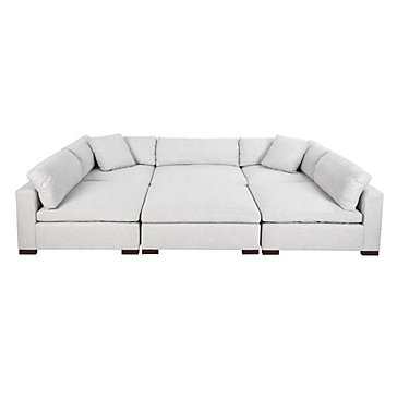 Naples Sectional - 6 PC | Naples Modular Sectional Collection .