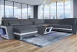XL Sectional Sofa Nashville with Lights in 2020 | Sectional sofa .