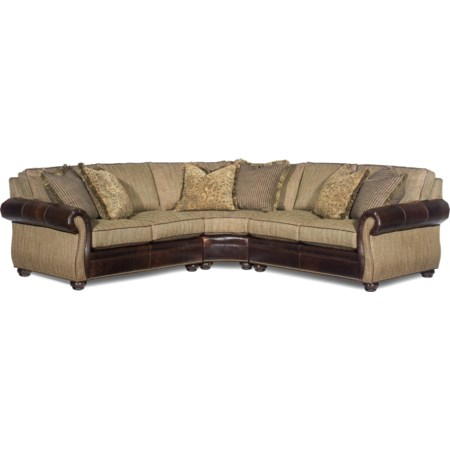 Bradington Young Sectional Sofas in Nashville, Franklin, and .