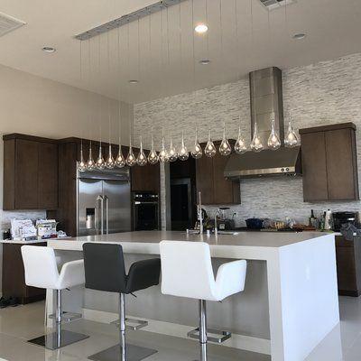 Neal 9 - Light Kitchen Island Teardrop Pendant | Kitchen furniture .