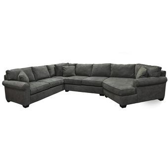 3-Piece Sectional in Cooper Granite | Nebraska Furniture Mart .