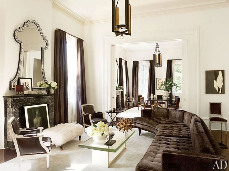 Lush Velvet Rooms from the Pages of AD | New orleans homes .