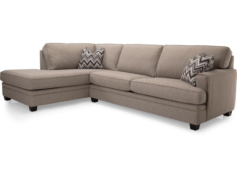 Decor-Rest Living Room 2697-Sectional - Cozy Living Inc .