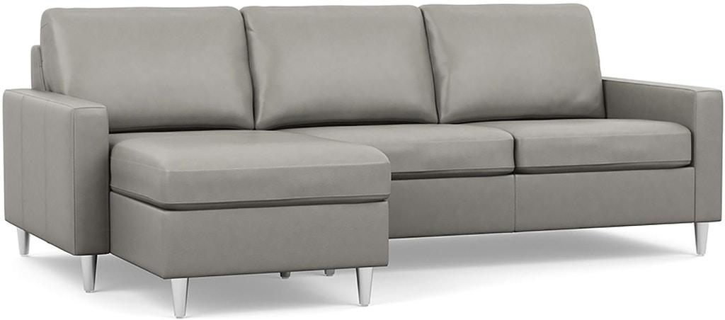 Palliser Furniture Living Room Emilia High Leg Sectional 10003 .