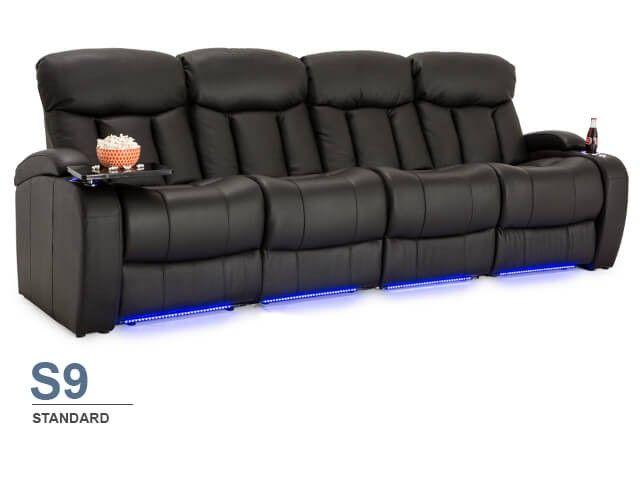 Seatcraft Niagara Sofa Top Grain Leather 7000, Power or Manual .